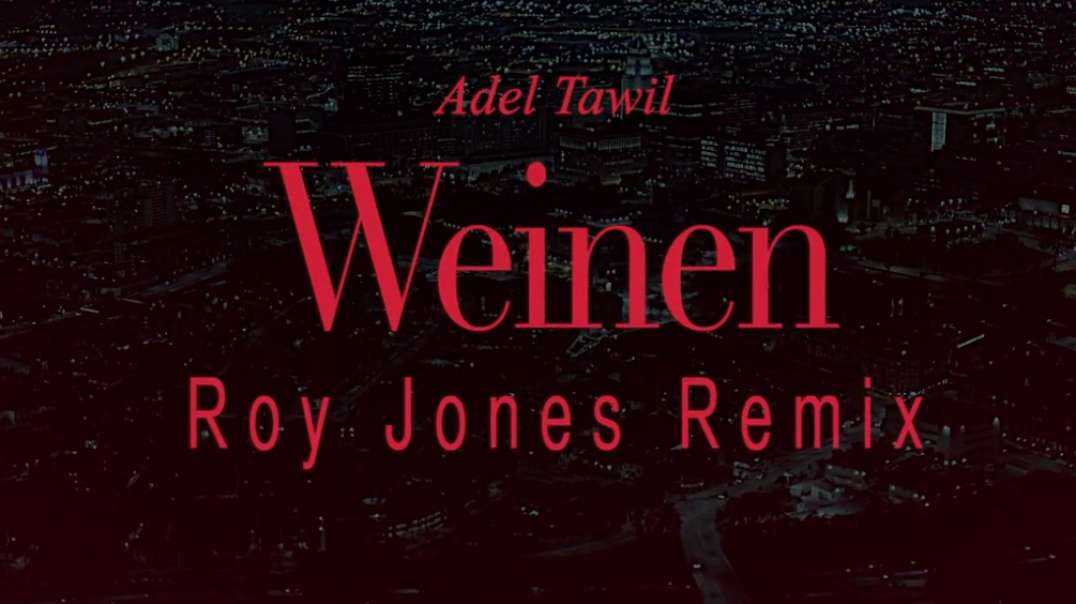 Adel Tawil - Weinen | Roy Jones Remix
